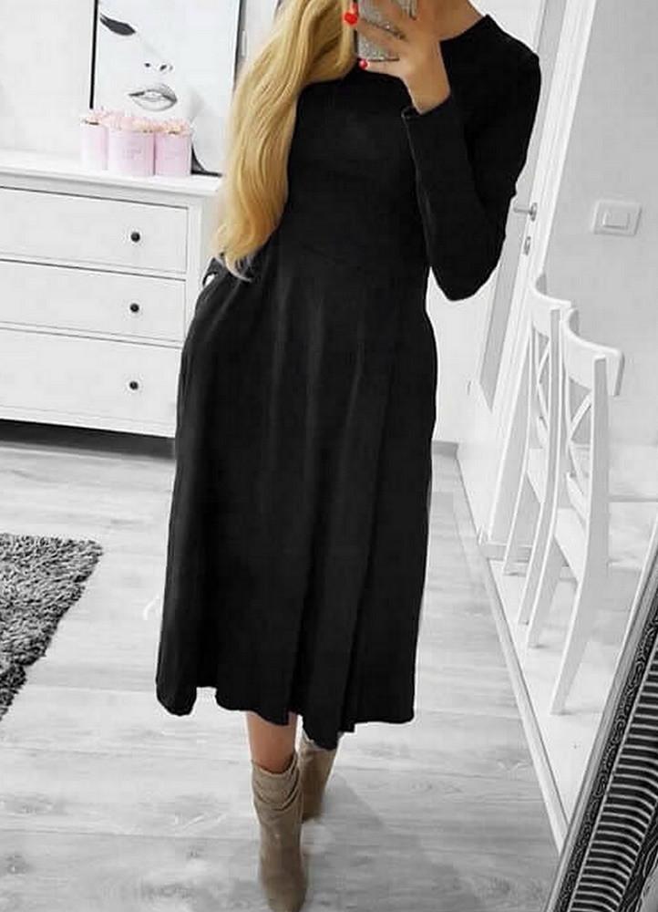 f73ff42085e1 1534 ΜΑΥΡΟ ΜΙΝΤΙ ΦΟΡΕΜΑ ΚΛΟΣ - Μοντέρνα γυναικεία ρούχα Online ...