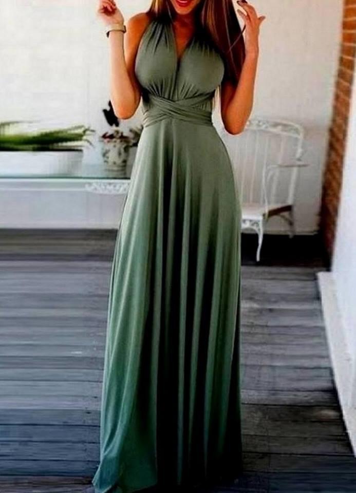 d2f935eff77 1602 ΧΑΚΙ ΜΑΞΙ ΦΟΡΕΜΑ ΠΟΛΥΜΟΡΦΙΚΟ - Μοντέρνα γυναικεία ρούχα Online ...