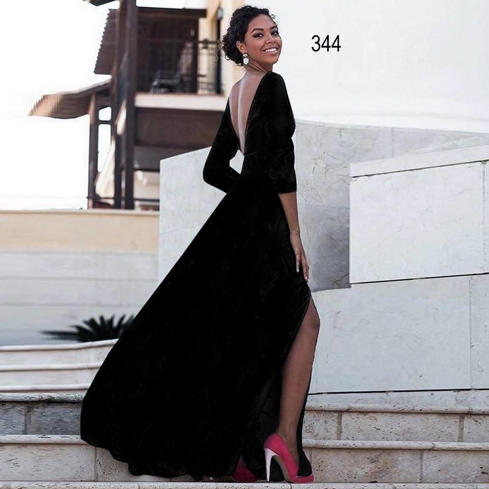 3ed89a190b26 182 ΜΑΞΙ ΜΑΥΡΟ ΦΟΡΕΜΑ - Μοντέρνα γυναικεία ρούχα Online ...