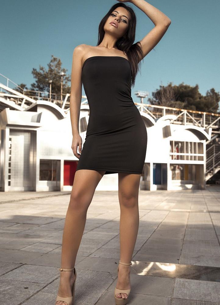 cba96b93f36c 1879 ΜΑΥΡΟ ΜΙΝΙ ΦΟΡΕΜΑ ΣΤΡΑΠΛΕΣ - Μοντέρνα γυναικεία ρούχα Online ...