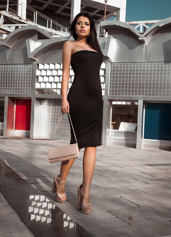 52cb1f972a71 1880 ΜΑΥΡΟ ΜΙΝΤΙ ΦΟΡΕΜΑ ΣΤΡΑΠΛΕΣ - Μοντέρνα γυναικεία ρούχα Online ...