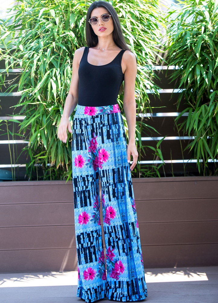 643 ΠΑΝΤΕΛΟΝΑ ΦΛΟΡΑΛ - Μοντέρνα γυναικεία ρούχα Online ... e9e90d79336