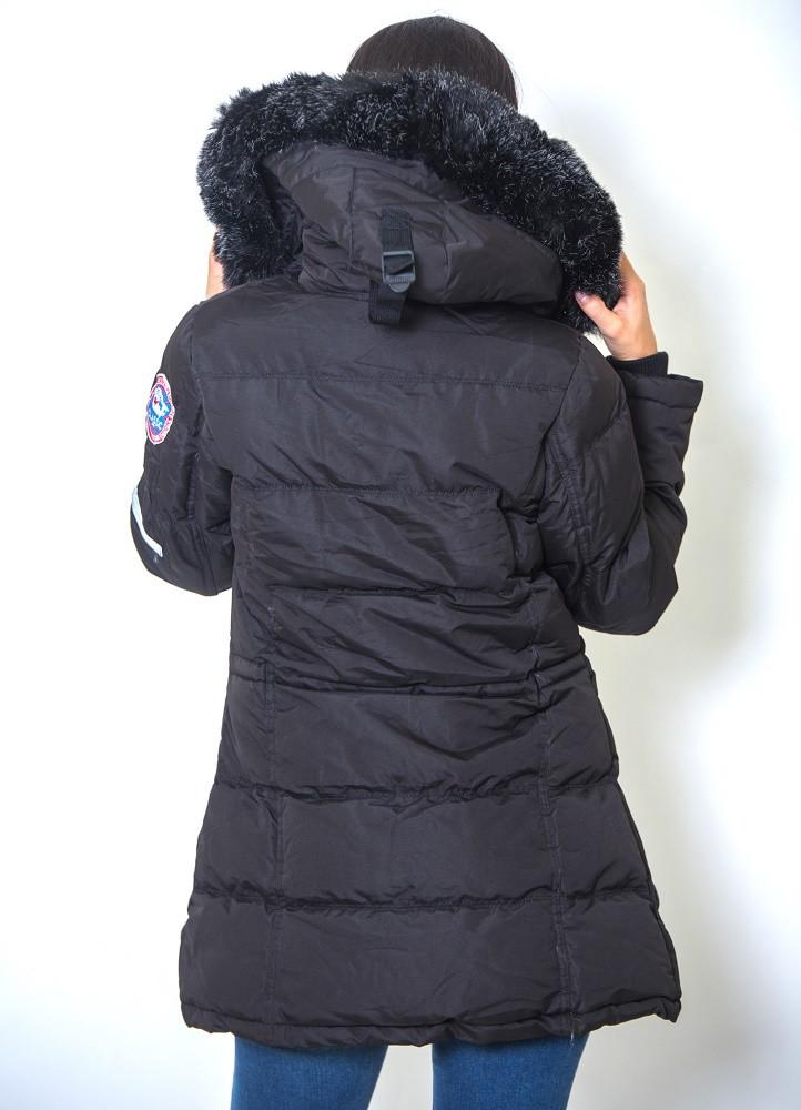 678 ΜΑΥΡΟ ΜΠΟΥΦΑΝ ΜΕΣΑΤΟ ΜΕ ΚΟΥΚΟΥΛΑ - Μοντέρνα γυναικεία ρούχα Online  1f690996e40
