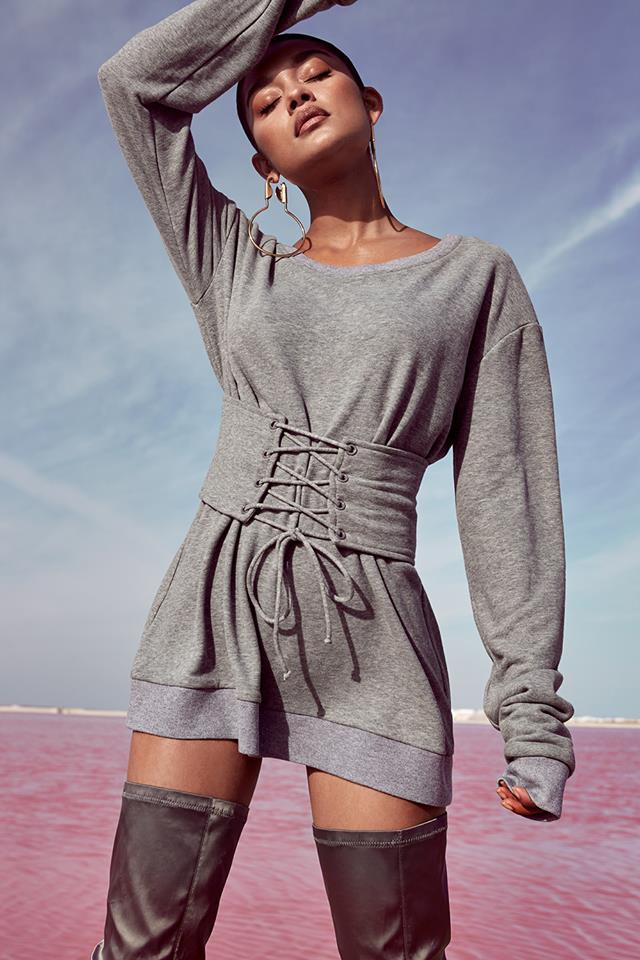 439651f05531 709 ΜΠΛΟΥΖΟΦΟΡΕΜΑ ΓΚΡΙ - Μοντέρνα γυναικεία ρούχα Online ...